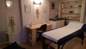 acupuncture treatment room in Tunbridge Wells